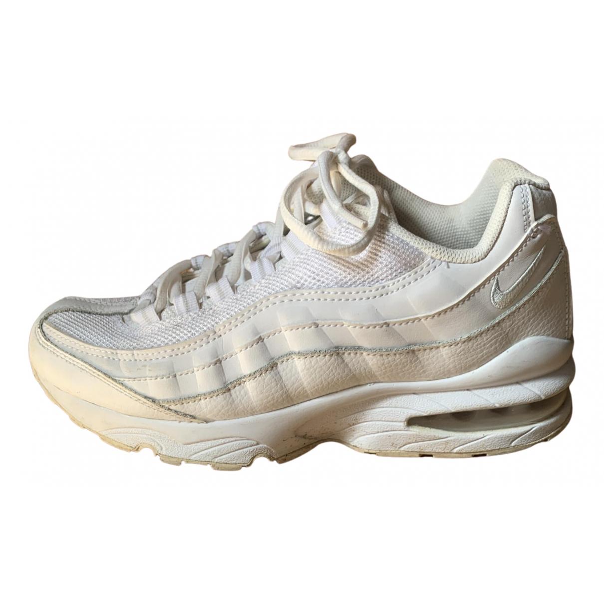 Nike Air Max 95 White Cloth Trainers for Women 37.5 EU