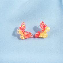 Ohrstecker mit Schmetterling Design
