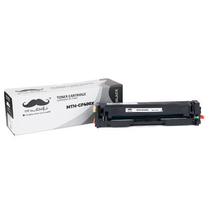 Compatible HP Color LaserJet Pro MFP M277 Black Toner Cartridge High Yield - Moustache