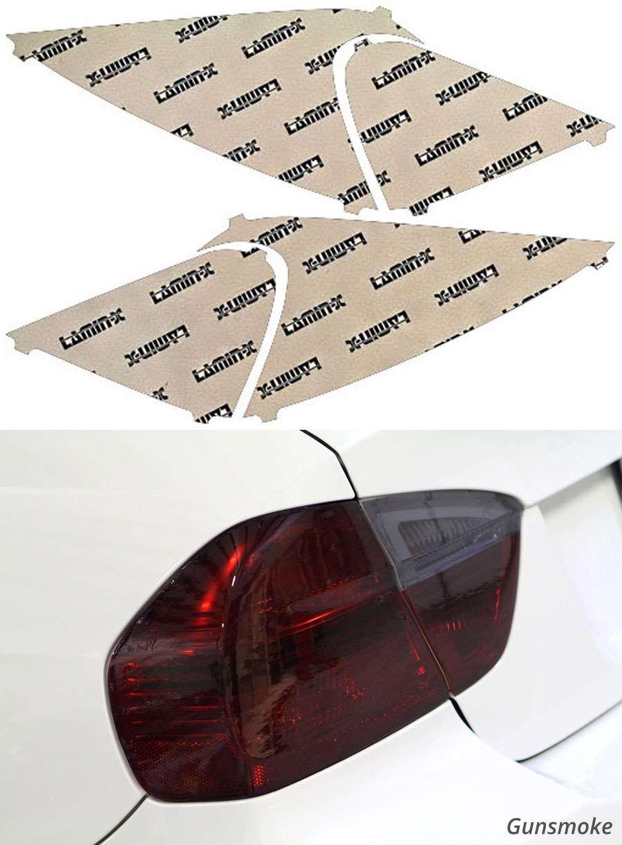Nissan Versa Hatchback 07-11 Gunsmoke Tail Light Covers Lamin-X N321G