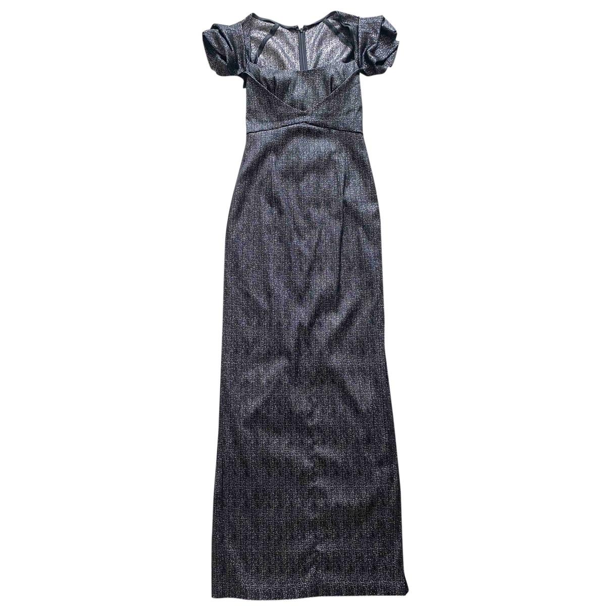 Talbot Runhof \N Kleid in  Schwarz Polyester
