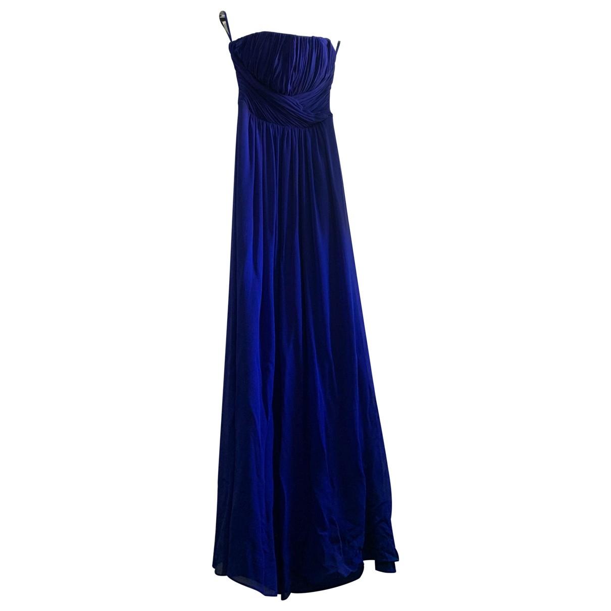 Ted Baker \N Kleid in  Blau Viskose