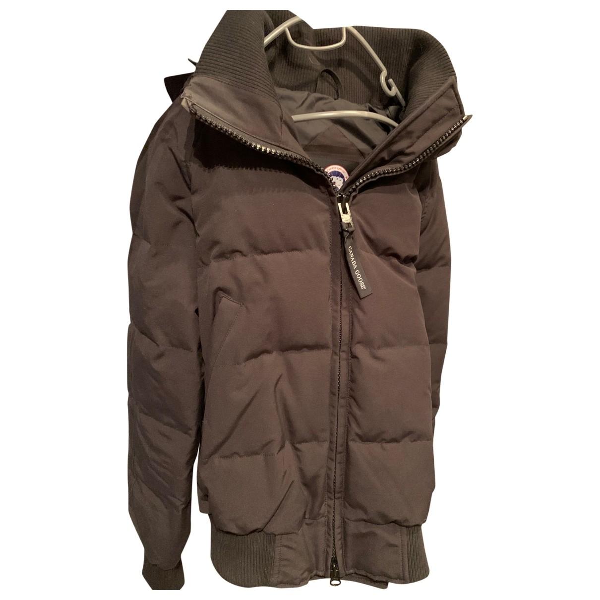 Canada Goose \N Black coat for Women M International