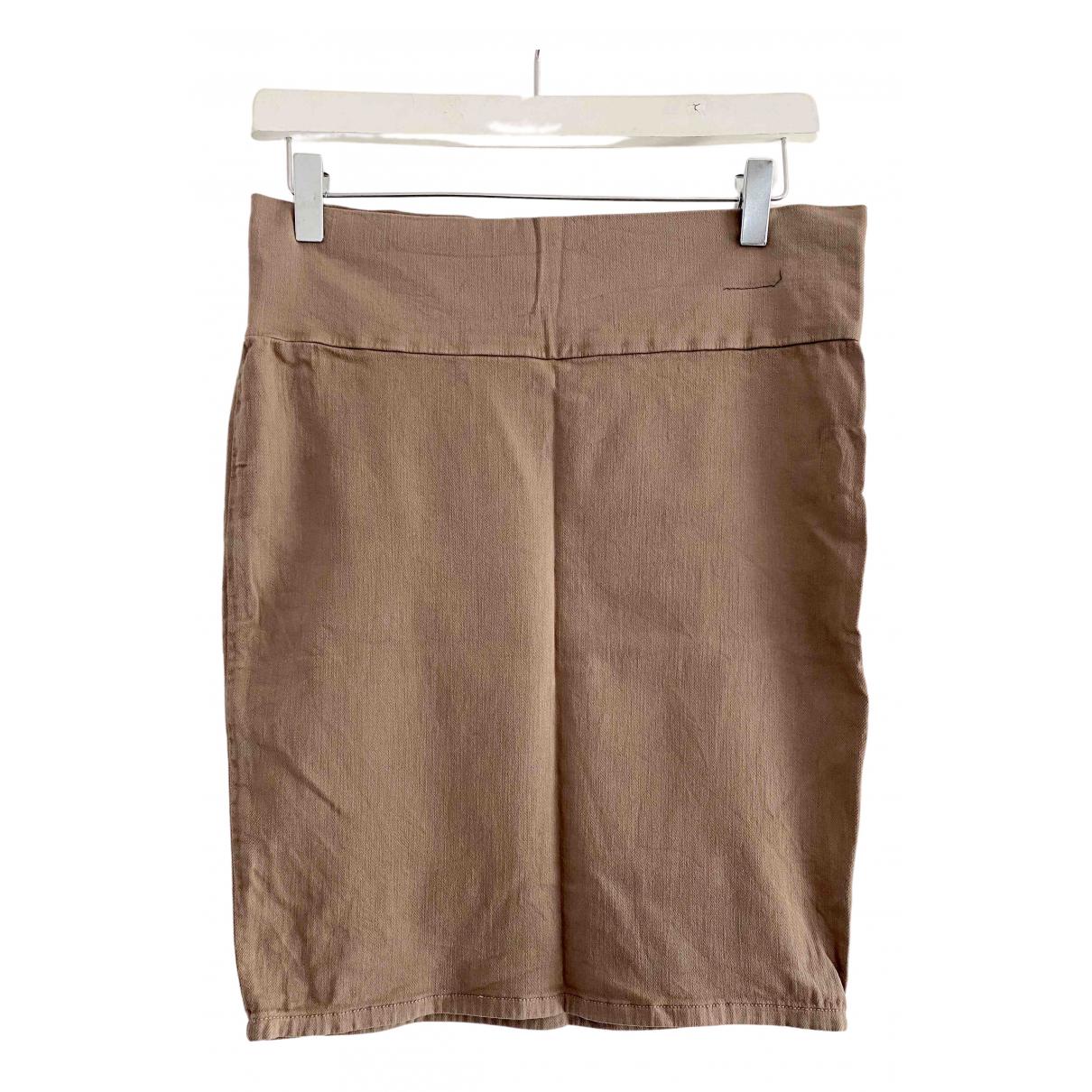Current Elliott - Jupe   pour femme en coton - elasthane - marron