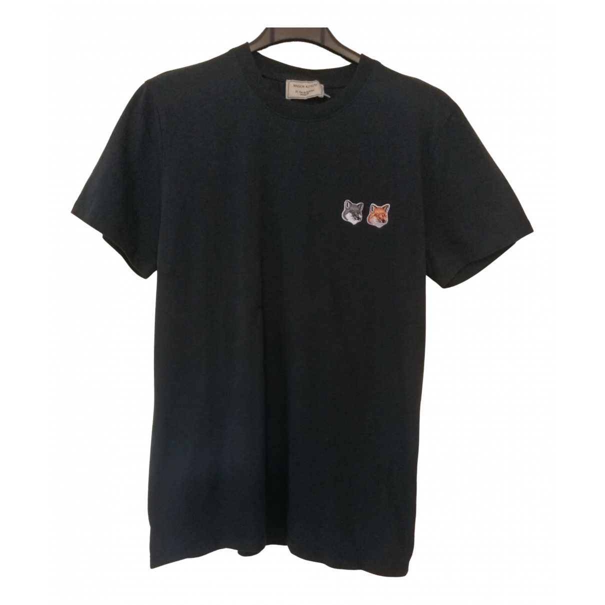 Maison Kitsune \N T-Shirts in  Marine Baumwolle