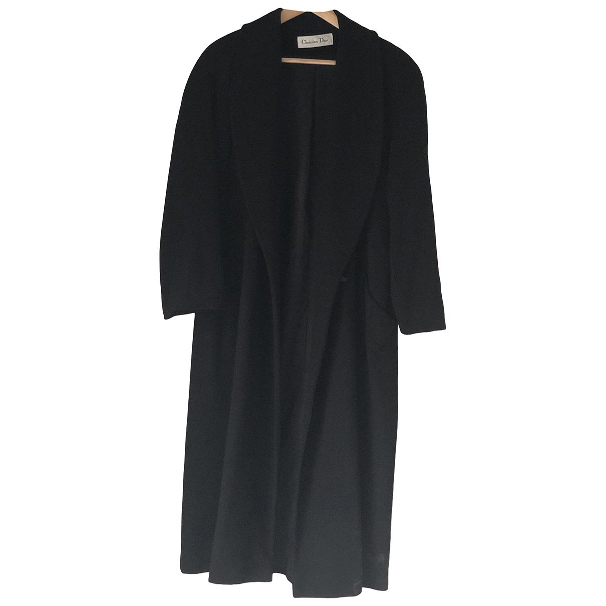 Dior - Manteau   pour femme en cachemire - noir