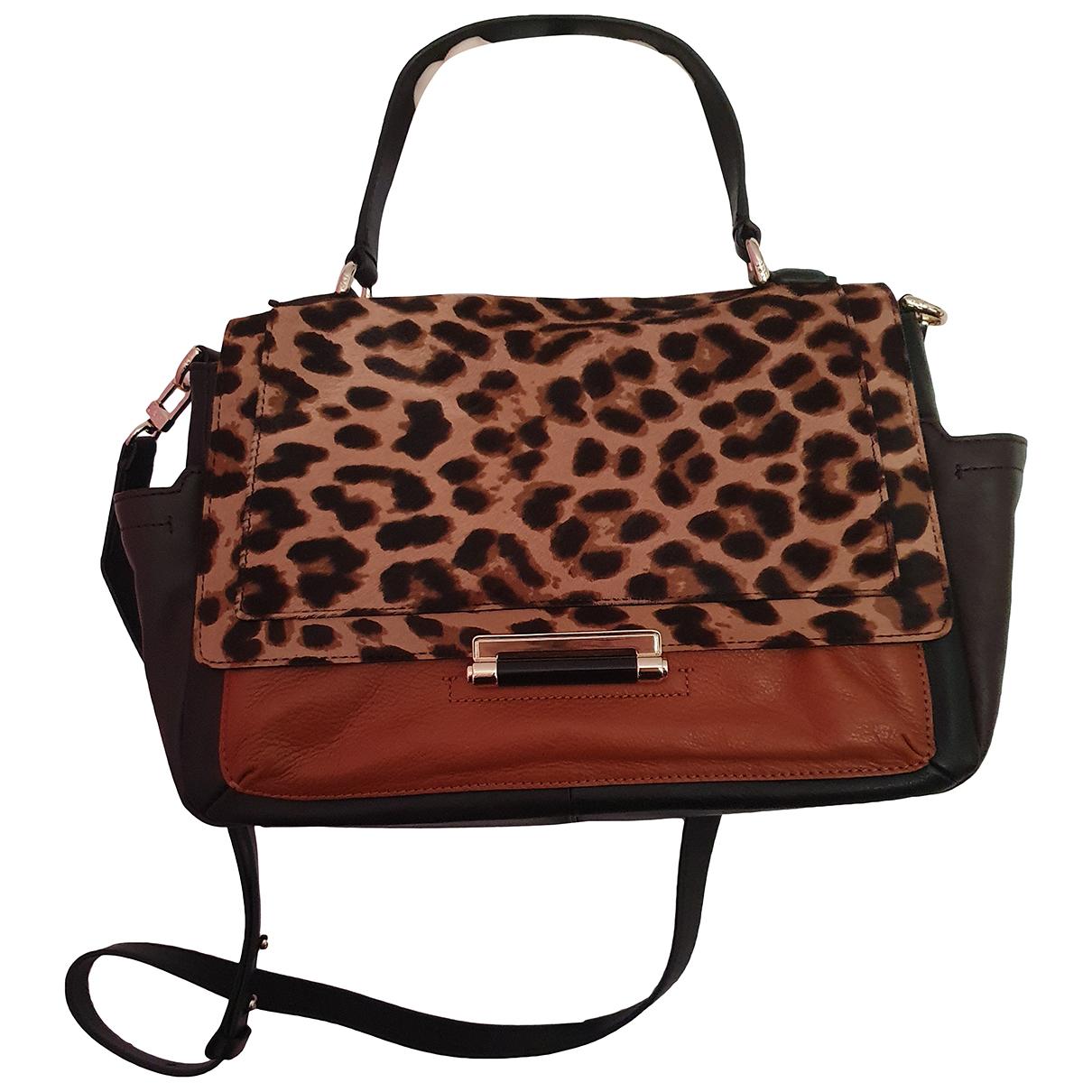 Diane Von Furstenberg N Brown Leather handbag for Women N