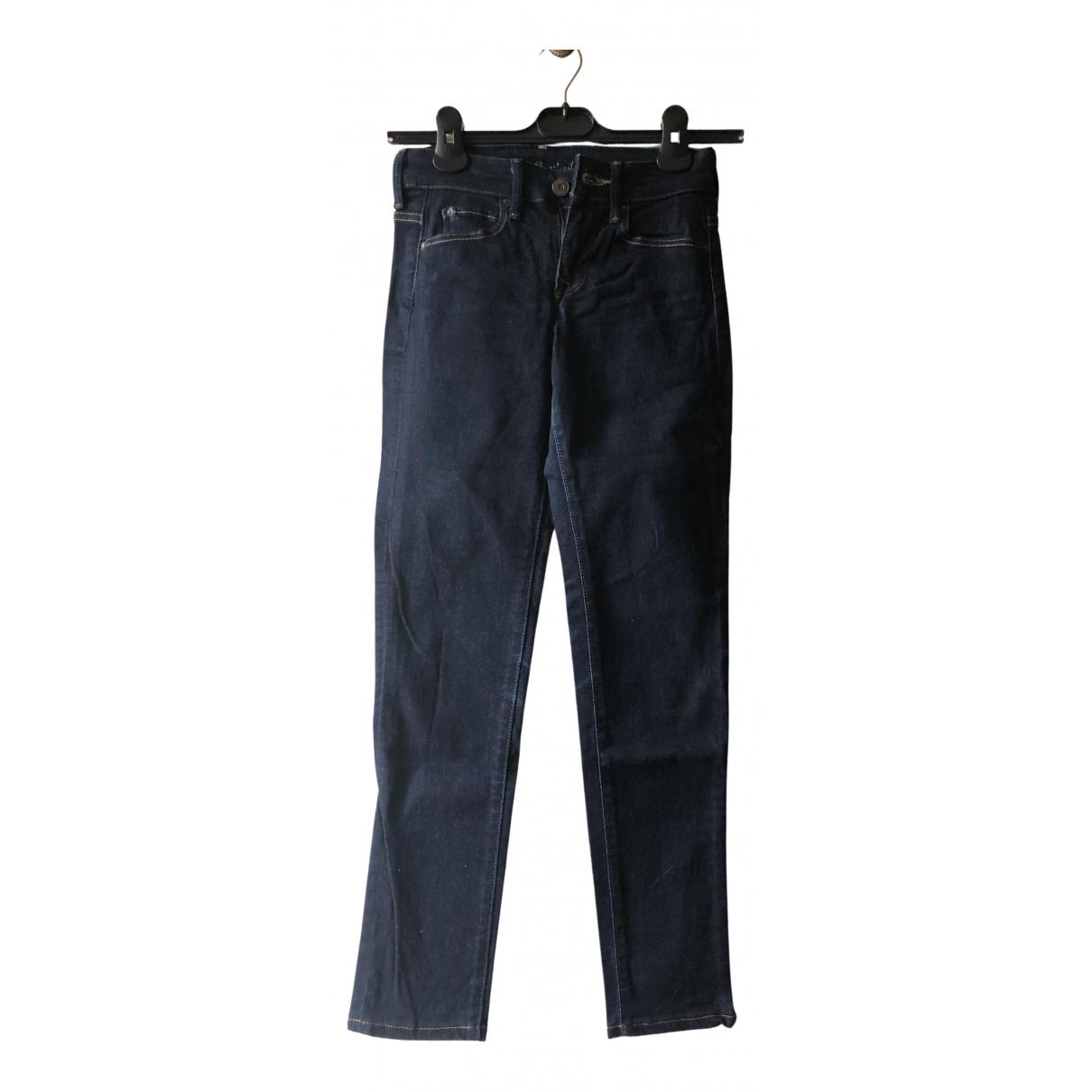 Levis - Jean   pour femme en coton - bleu