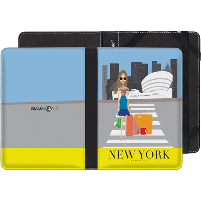 Sony Reader PRS-T3 eBook Reader Huelle - NEW YORK TRAVEL POSTER von IRMA