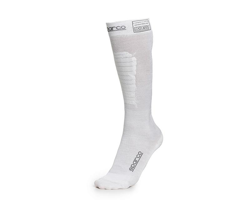 Sparco 001512BI1112 White RW-9 Compression Racing Socks EU 42/43   US 8/9.5