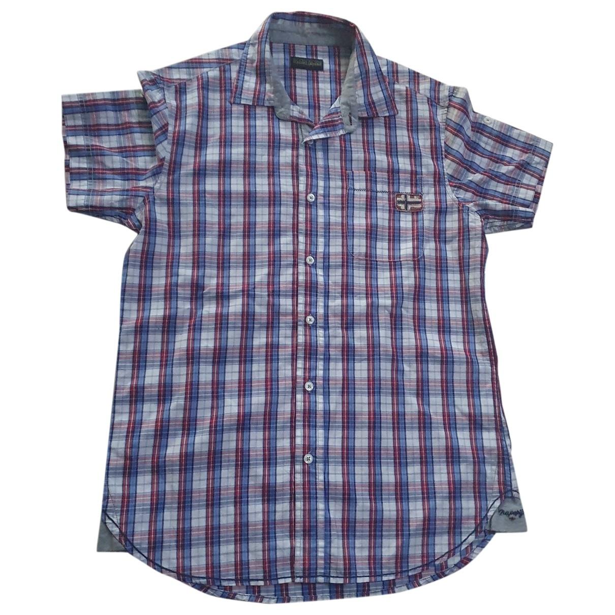 Napapijri \N Multicolour Cotton Shirts for Men M International