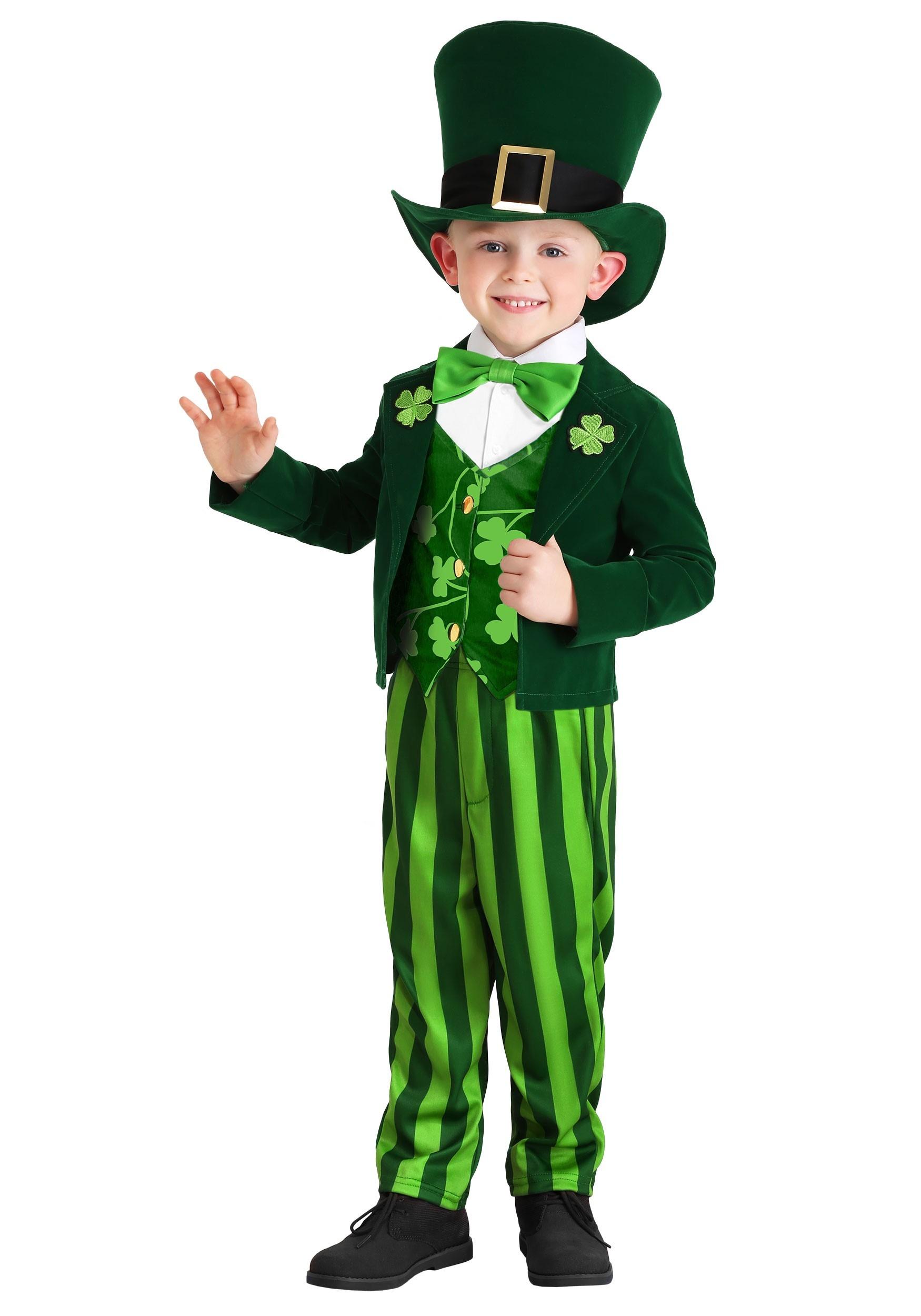 Toddler's Leprechaun Costume