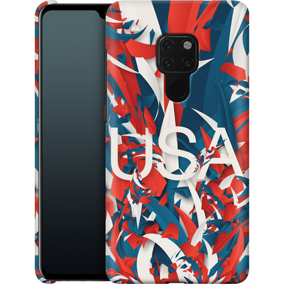 Huawei Mate 20 Smartphone Huelle - Colorful USA von Danny Ivan