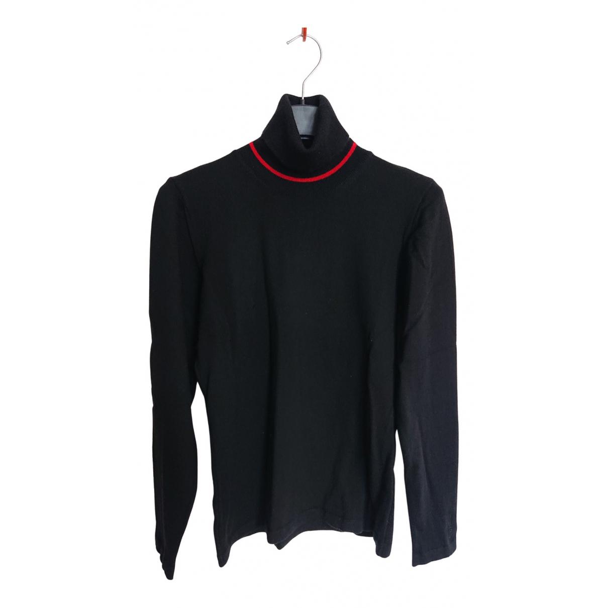 Hugo Boss - Pull   pour femme en laine - noir