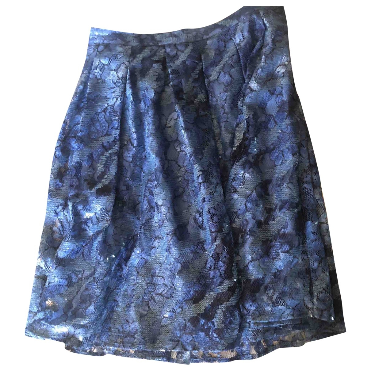 Guess \N Blue Glitter skirt for Women 42 IT