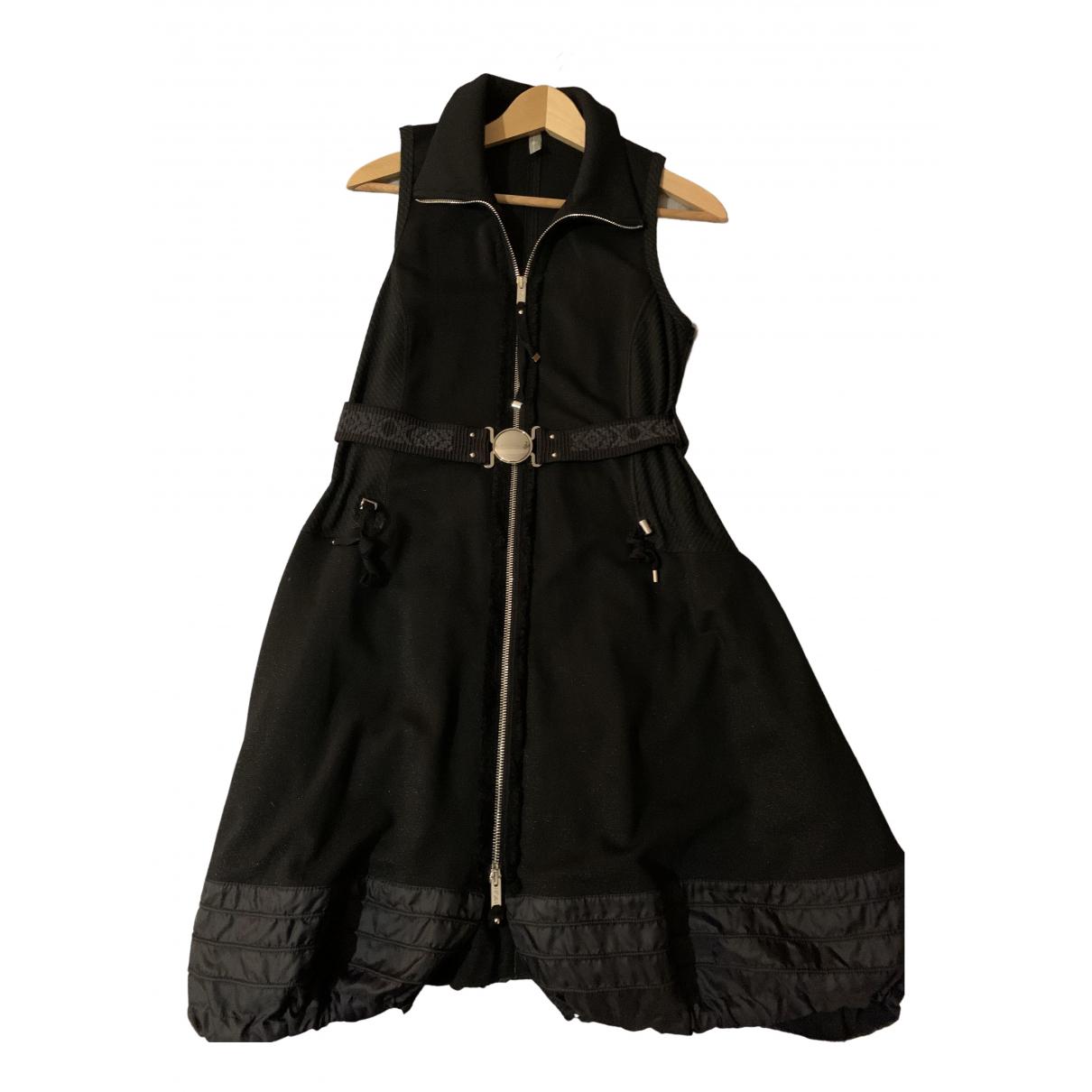 Claire Campbell \N Kleid in  Schwarz Viskose