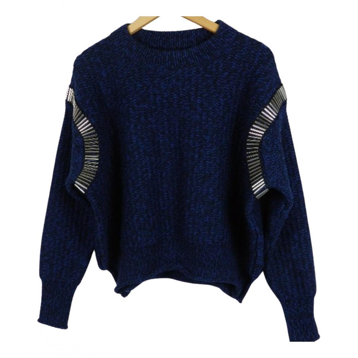 House Of Holland - Pull   pour femme en laine - bleu