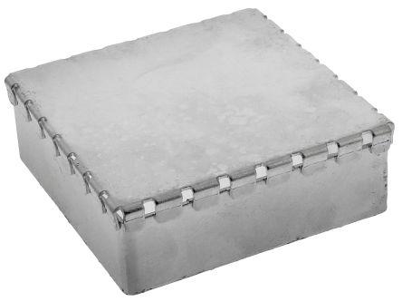 Perancea PLF Steel PCB Shielded Enclosure, 50 x 50 x 15mm