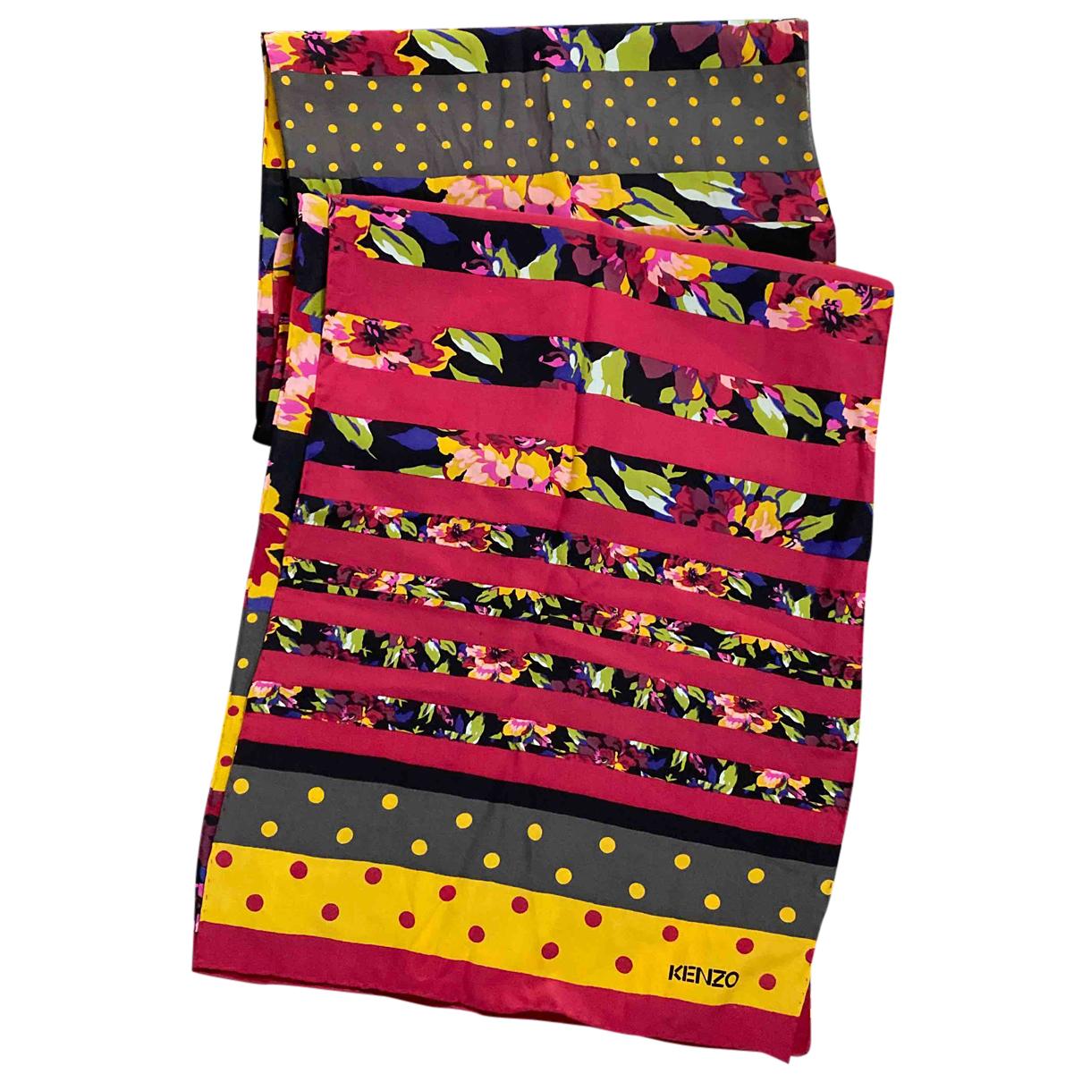 Kenzo - Foulard   pour femme en soie