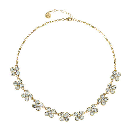 Monet Jewelry 17 Inch Cable Collar Necklace, One Size , White
