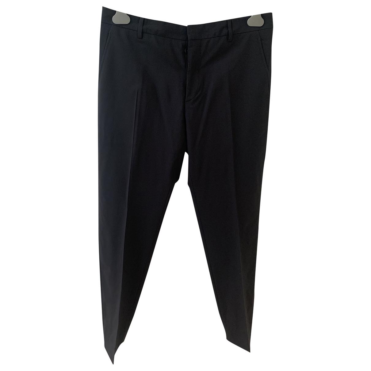 Prada N Navy Wool Trousers for Men 48 IT