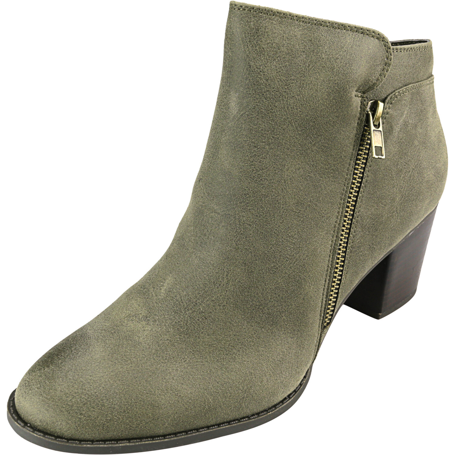 Fergalicious Women's Delta Olive High-Top Fabric Boot - 11M