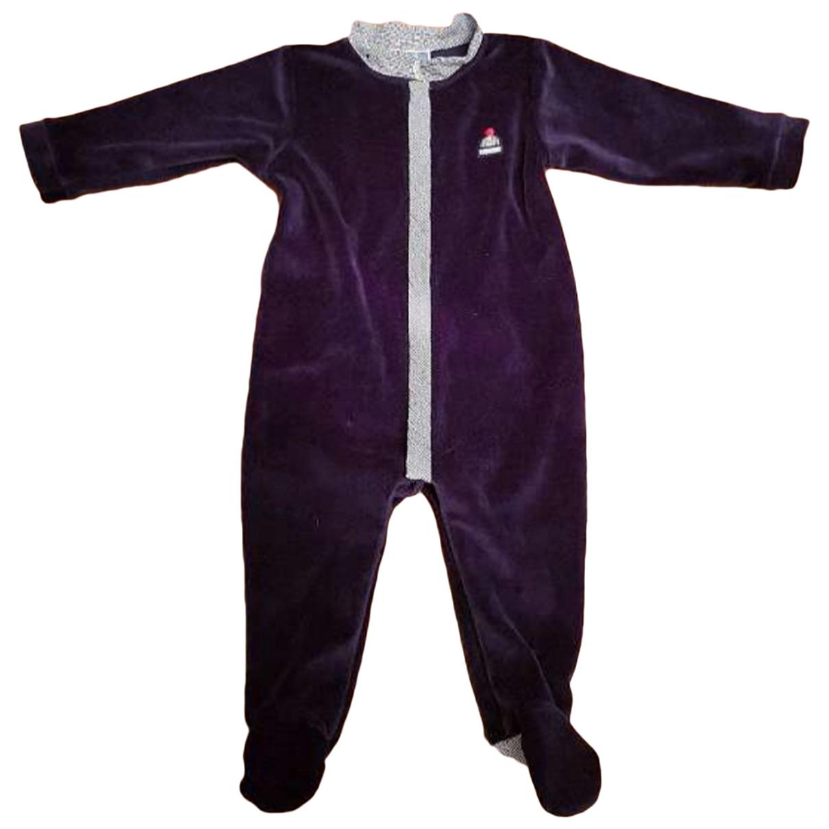 Jacadi - Les ensembles   pour enfant en coton - bleu
