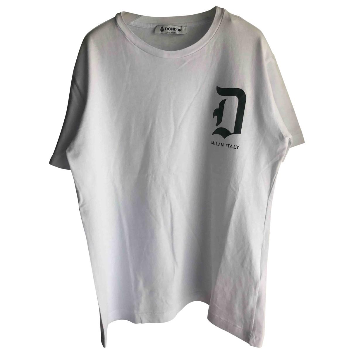 Dondup - Top   pour enfant en coton - blanc
