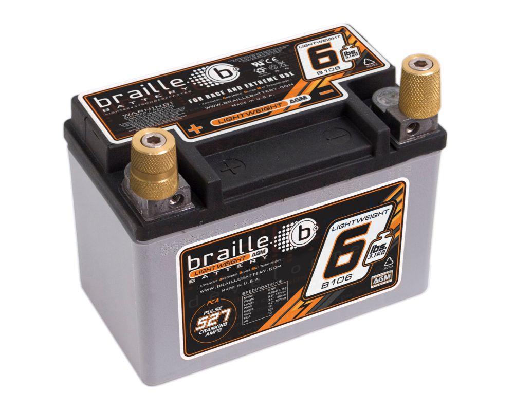 Braille Lightweight Battery 527 AMP 5.8 x 3.4 x 4.2 Inch