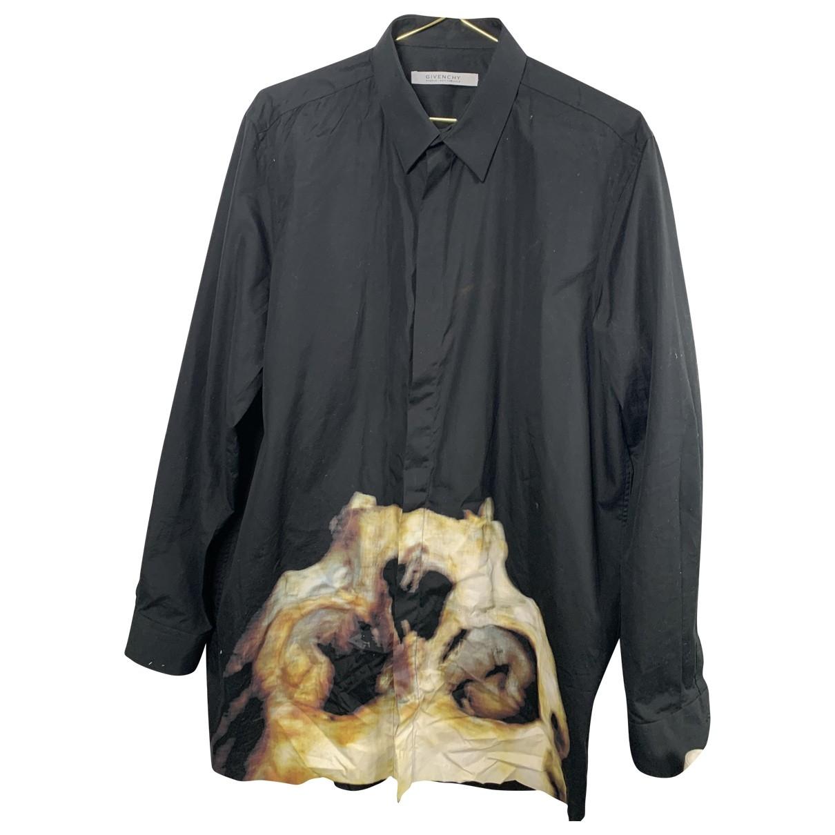 Givenchy \N Hemden in  Schwarz Baumwolle