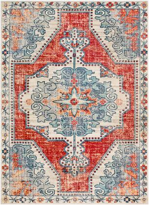 Bohemian BOM-2300 53 x 74 Rectangle Traditional Rug in