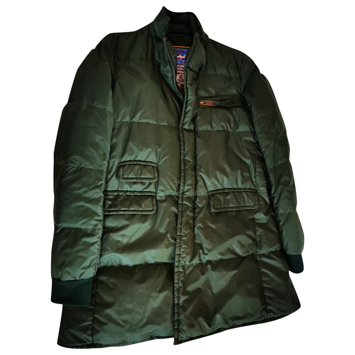 Dsquared2 \N Trench in  Gruen Polyester