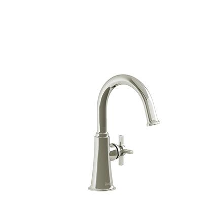 Momenti MMRDS00+PN-10 Single Hole Lavatory Faucet with + Cross Handle without Drain 1.0 GPM  in Polished