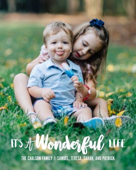 Family + Friends 8x10 Designer Print - Matte, Prints -It's a Wonderful Life