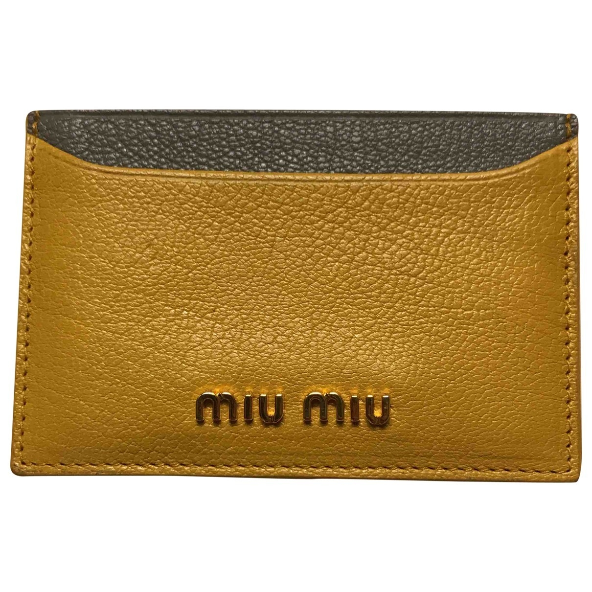 Miu Miu \N Multicolour Leather Purses, wallet & cases for Women \N
