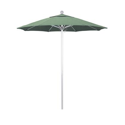 ALTO758002-SA13 7.5' Venture Series Commercial Patio Umbrella With Silver Anodized Aluminum Pole Fiberglass Ribs Push Lift With Pacifica Spa