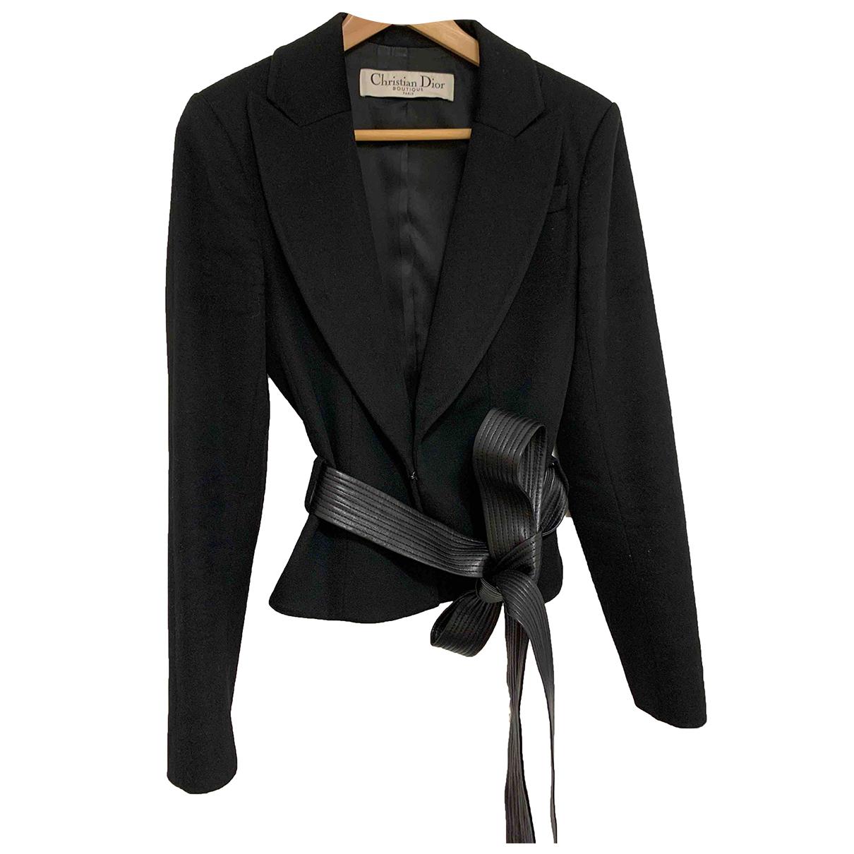Dior - Veste   pour femme en cachemire - noir