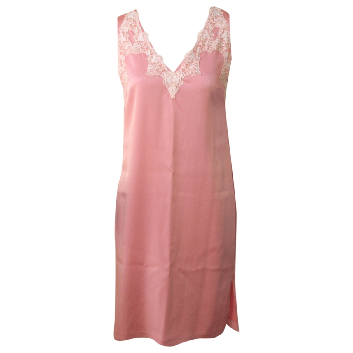 Claudie Pierlot \N Kleid in  Rosa Polyester