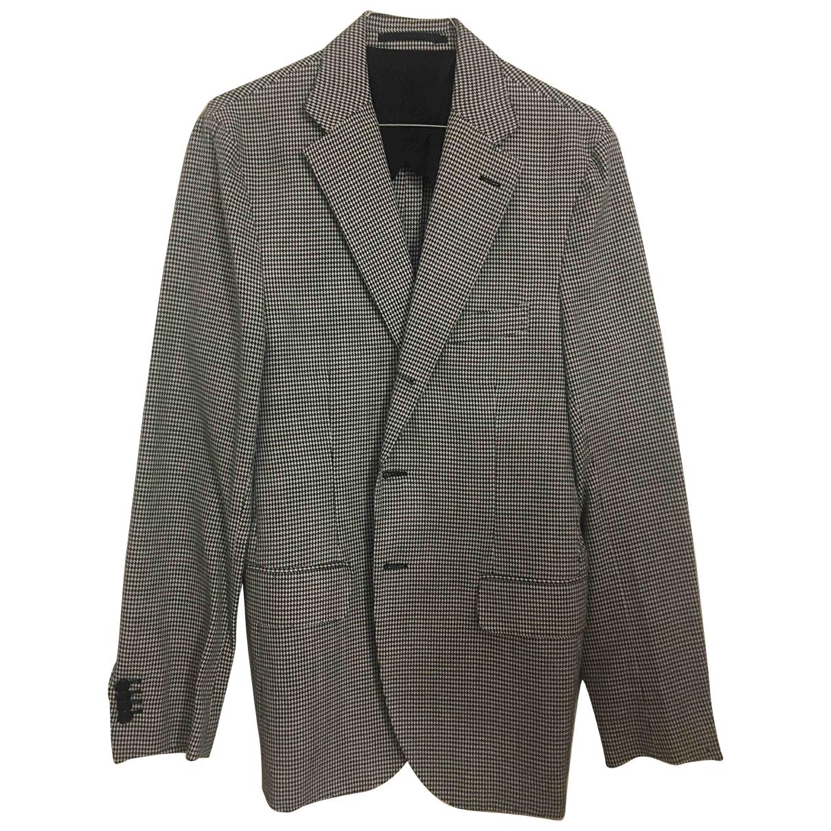 Massimo Piombo - Vestes.Blousons   pour homme en coton - bleu