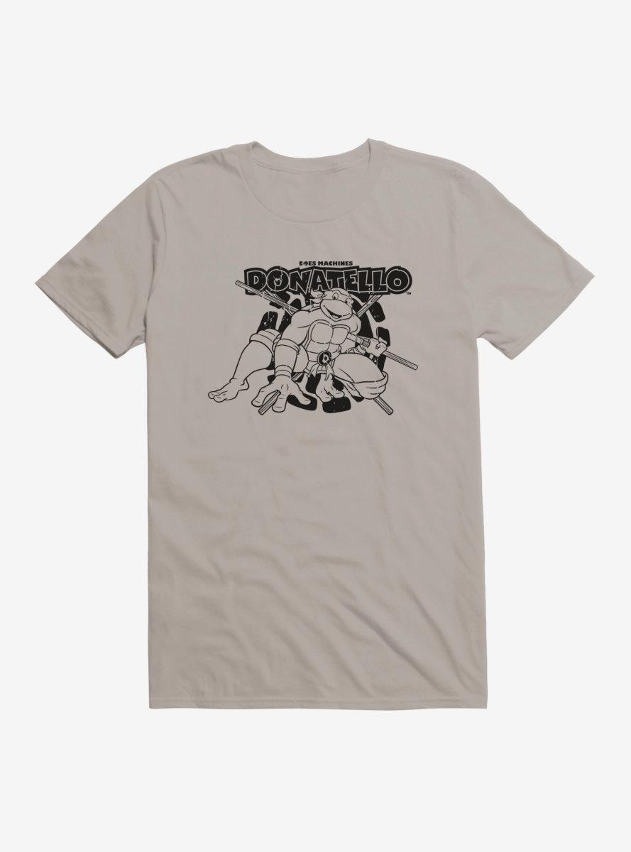 Teenage Mutant Ninja Turtles Donatello Outline Shadow T-Shirt