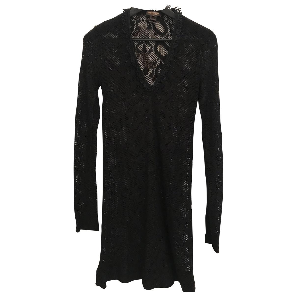 Roberto Cavalli N Black dress for Women M International