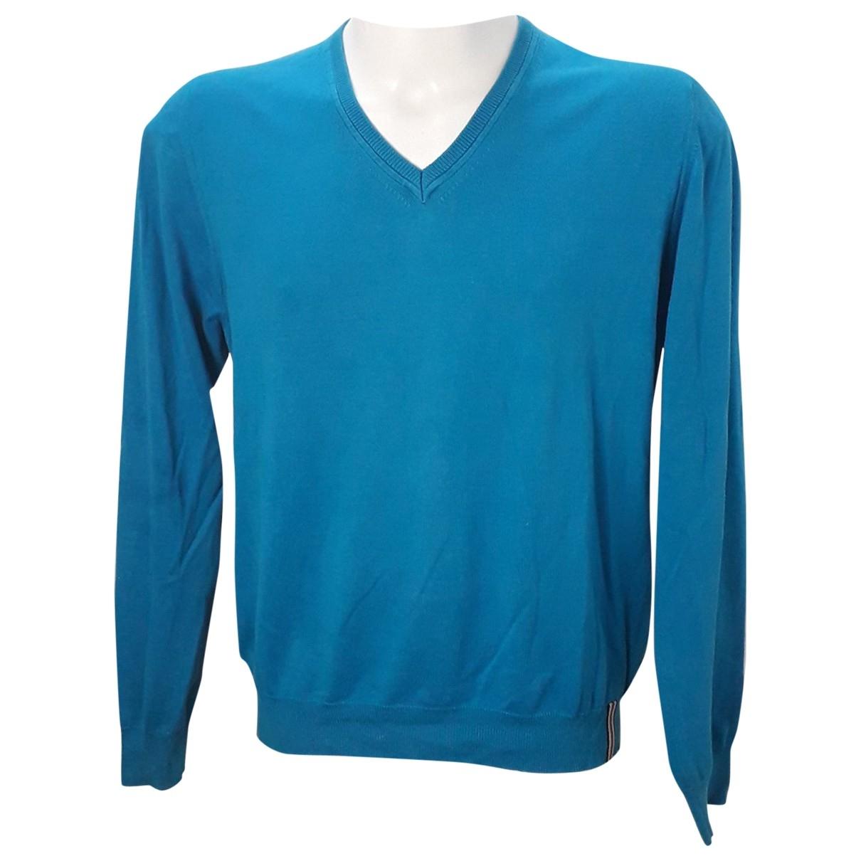 Burberry - Pulls.Gilets.Sweats   pour homme en coton - bleu