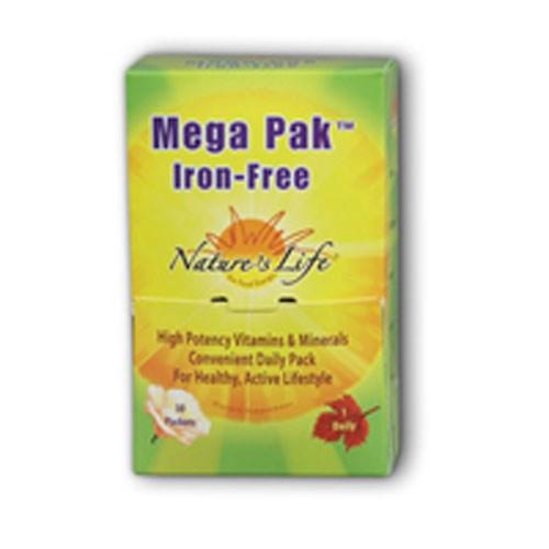 Mega Pck Multiple Iron Free 30 pack by Nature's Life
