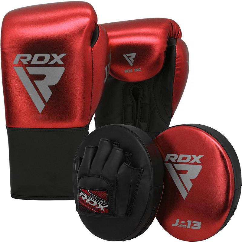 RDX J13 8oz boxe de Ensemble gants Pattes dours