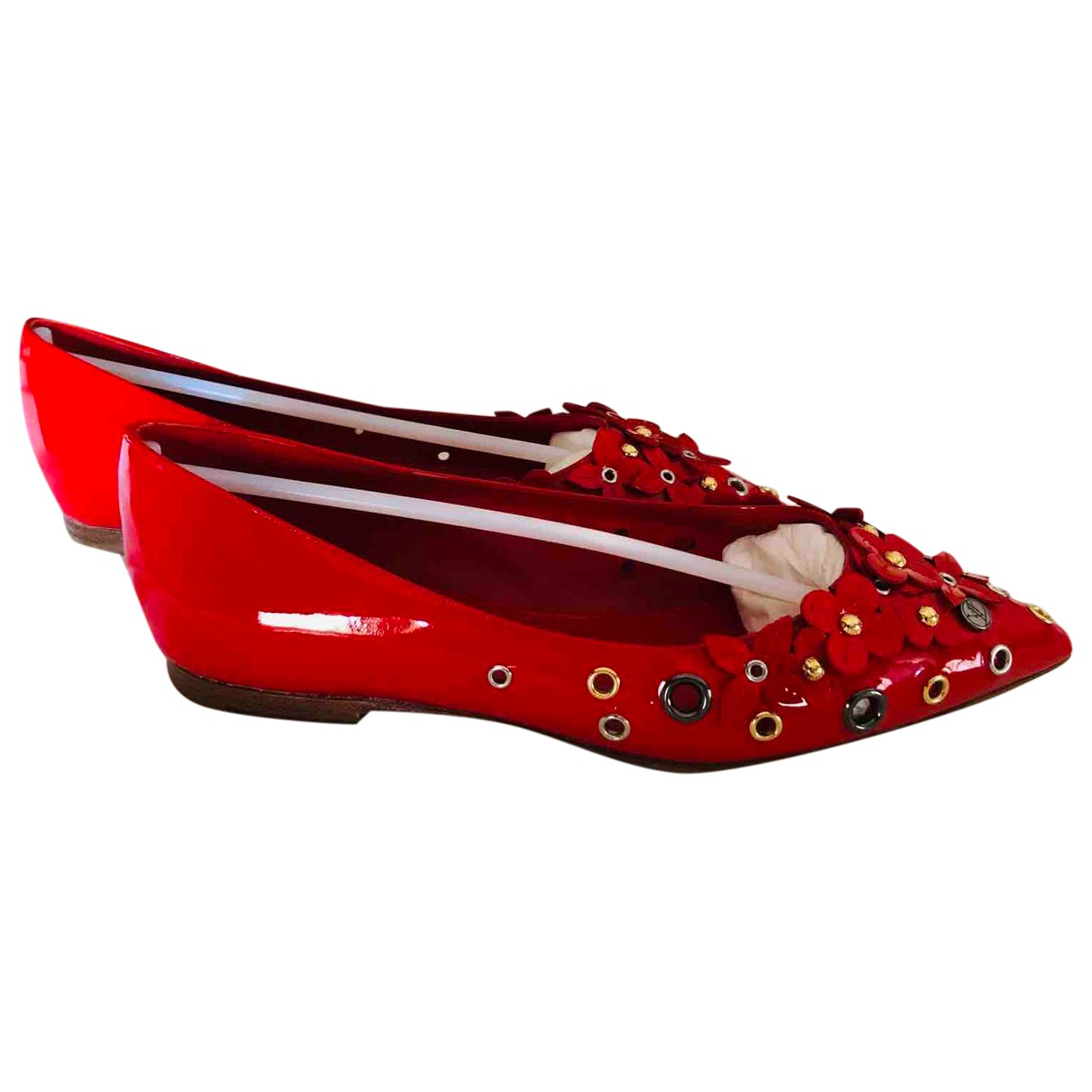 Bailarinas de Charol Louis Vuitton