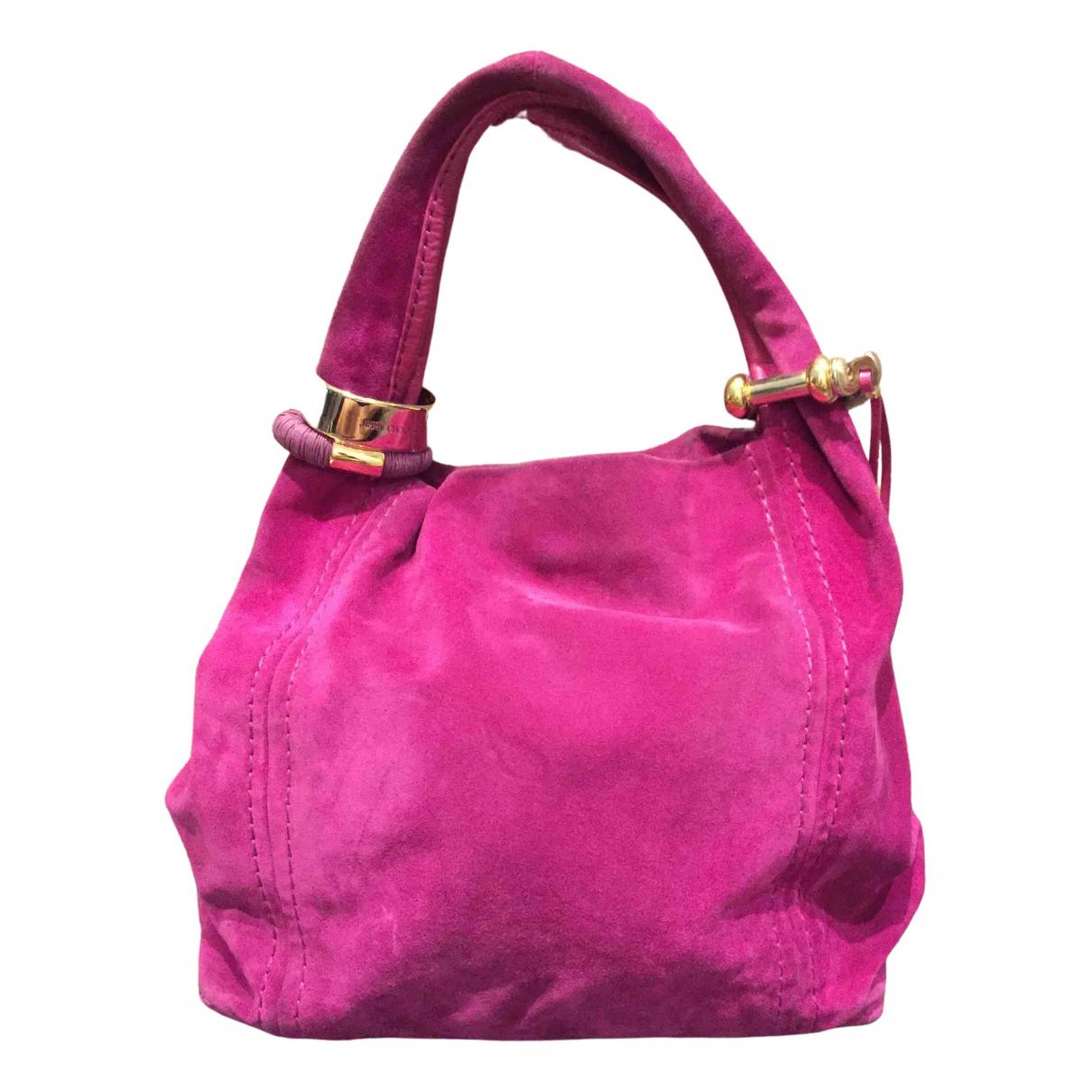 Jimmy Choo \N Pink Suede handbag for Women \N