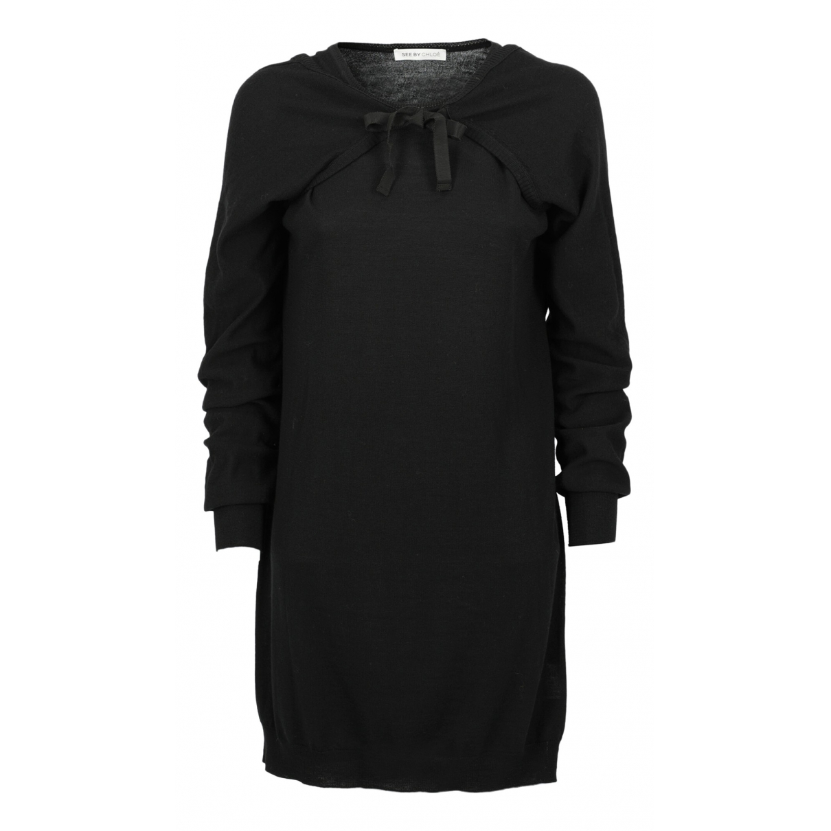 See By Chloe \N Kleid in  Schwarz Wolle