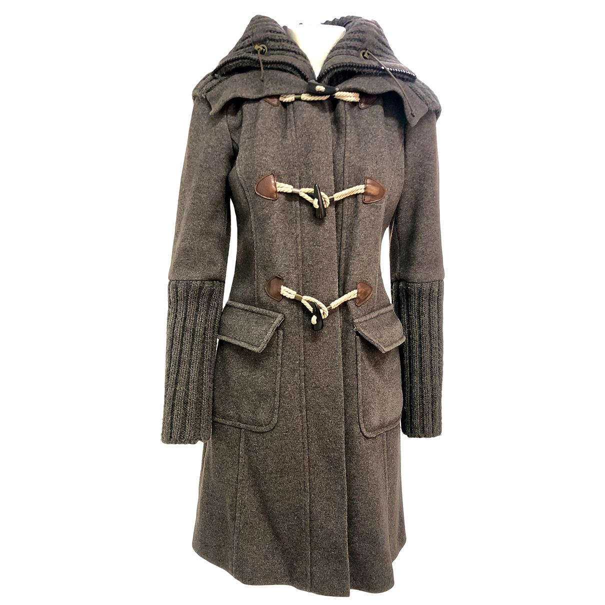 Autre Marque N Grey Wool coat for Women 40 IT