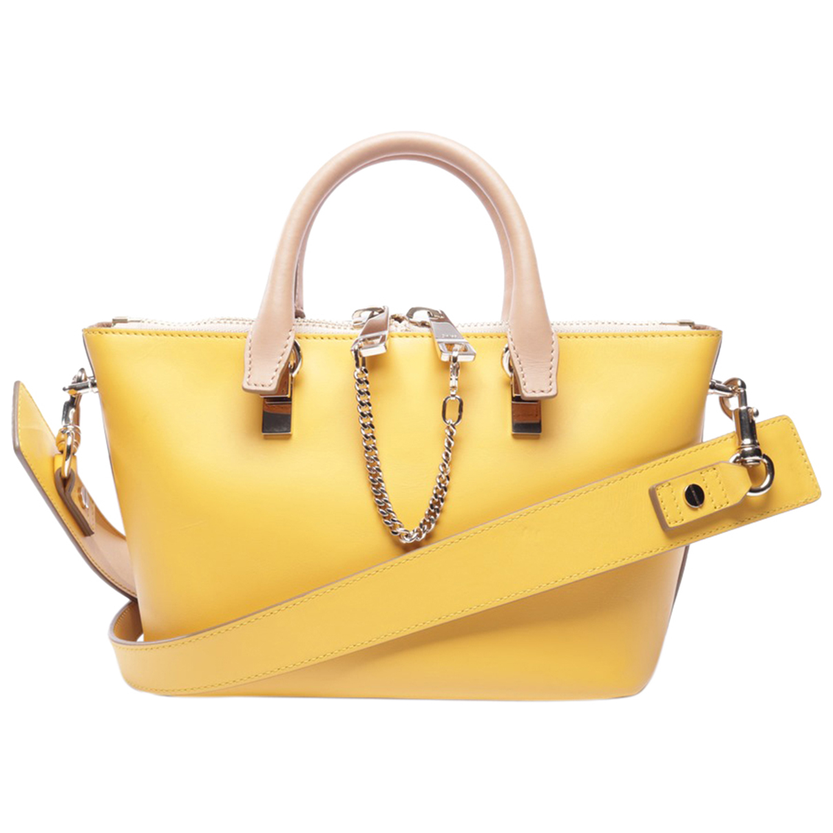 Chloé Baylee Beige Leather handbag for Women \N