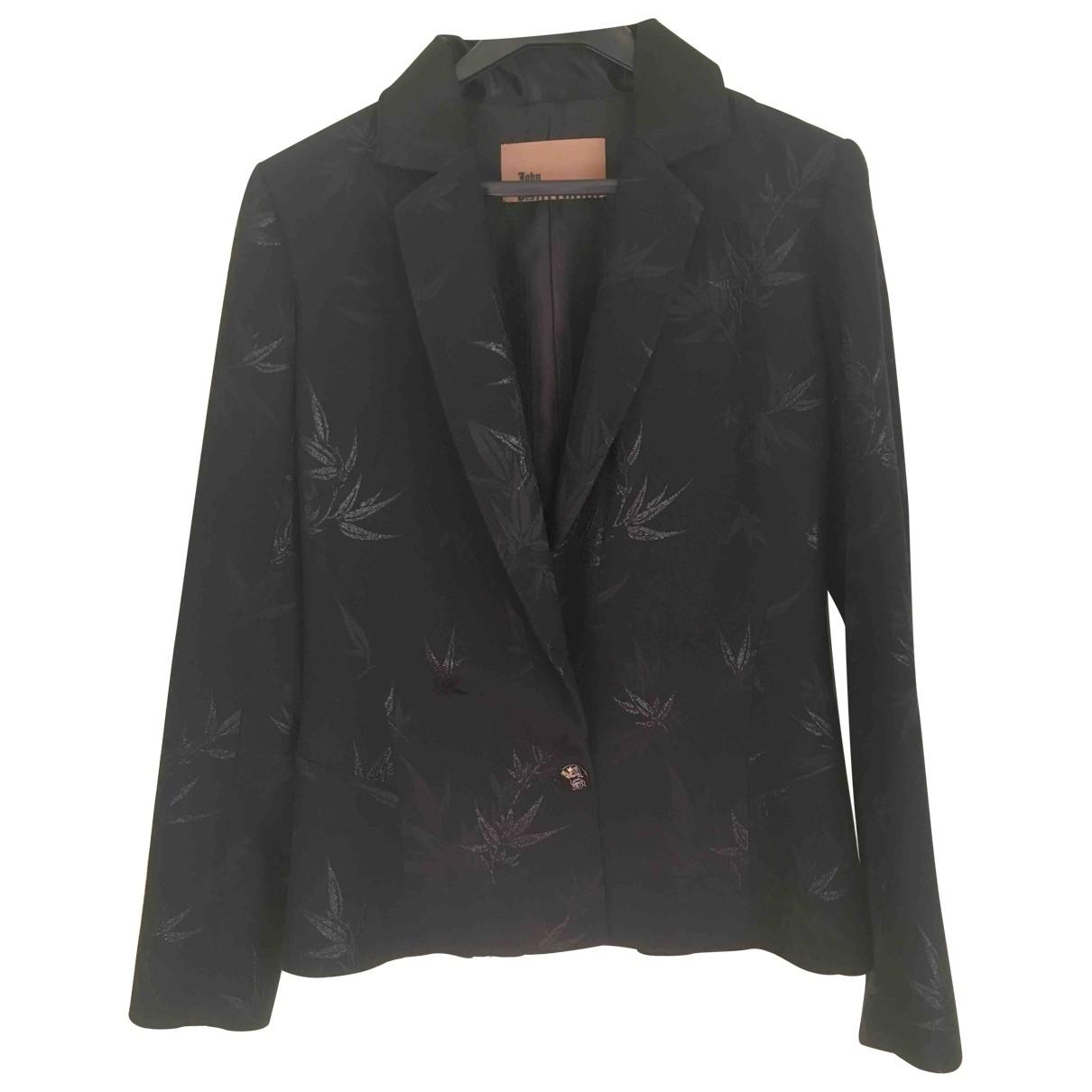 John Galliano - Veste   pour femme en coton - noir